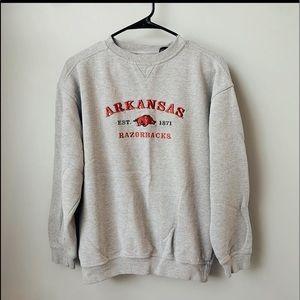 Vintage Arkansas Sweatshirt Small